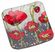 Poppy Modern Design Candle Plate 275373